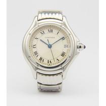 Relógio Cartier Em Aço Cougar - Feminino - Seminovo