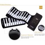 Teclado Musical Flexível 61 Teclas Usb / Midi - Pu61