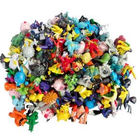 24 Brinquedos Em Miniatura Pokémon Pronta Entrega S/ Repetir