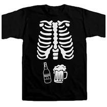Playera Para Embarazada Esqueleto, Halloween, Bebé