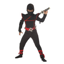 Traje De California Trajes Ninja Stealth Toddler, 3-4