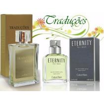 Perfume Hinode Traduções Gold 59 Fragancia Ck Eternity 100ml