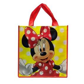 Disney Minnie Mouse Gran Bolso Reutilizable De Non-woven