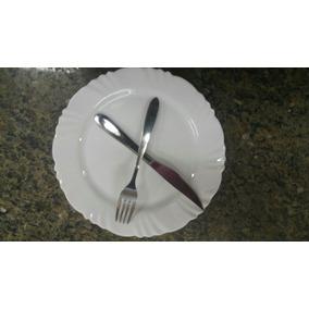 Prato+ Garfo+ Faca Buffet Restaurante Pronta Entrega Oferta