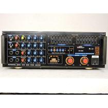 Poder Amplificador Ecualizador Mezclador
