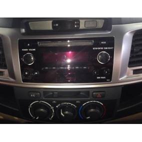 Radio Toyota Hilux 2014/2015 (veja Tamanho Da Moldura!!!)