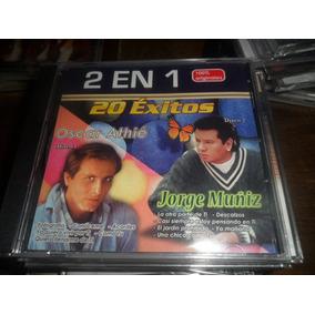 Cd Oscar Athie Y Jorge Muñiz 20 Exitos Nuevo