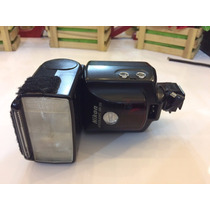 Flash Nikon Sb 28 Adaptado C/sapata Uso Slave - Manutença