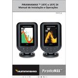 Manual Em Português Do Sonar Humminbird Piranhamax 197c Di