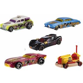 Lote 5 Hot Wheels - The Beatles + Marvel Black Widow Lacrado