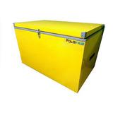 Caixa Térmica Cooler 60 Litros Dreno E Rodízios Frete Gratis