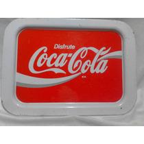 Charola Grande Antigua Refrescos Coca Cola Vintage Años 70