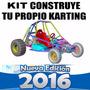 Manual Construye Carro Buggy Karting Go Kart Arenero Origina