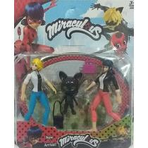 Cartela Bonecos Miraculous Ladybug E Personagens