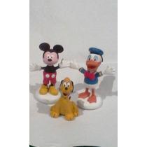 Mickey Mouse Y Sus Amigos,en Masa Flexible