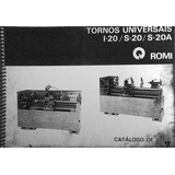 Catalogo De Peça Do Torno Universal Romi
