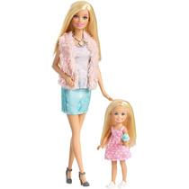 Barbie Hermanas Y Chelsea (set 2) - Rosa
