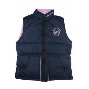 Colete Feminino Cavalo Crioulo Azul/rosa