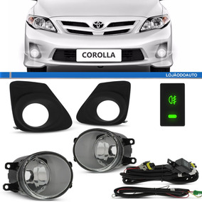 Kit Farol Milha Auxiliar Corolla 2012 2013 2014 Com Lampadas