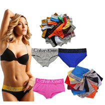 Lote 10 Boxers Calvin Klein Panties Originales Mixtos