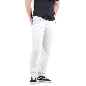 Jeans Hombre Lee Blanco Powell