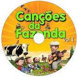 7 Dvds - Canções Fazenda Reino Das Crianças - Frete Grátis!