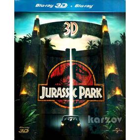 Jurassic Park Parque Jurasico 1993 Blu-ray 3d + Blu-ray