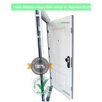 Puerta De Seguridad Multi Anclaje Ch 18 Pesada Exterior