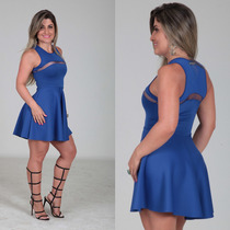 Vestido Godê Brilho Sexy Balada Estilo Labellamafia Panicat