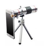 Lente De Celular Zoom 12x Telescópico Modelo Universal