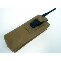 Porta Radio O Pouch Color Tan