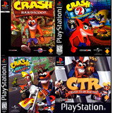 Crash Bandicoot 1, 2, 3 + Crash Team Racing Ps3 Español