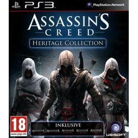 Assassins Creed Ps3 Heritage Collection | Digital Esp 5 En 1