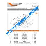 Manual De Despiece Catalogo De Partes Tx-200 Español