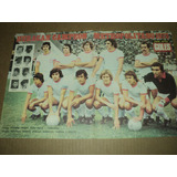 Huracan Campeon !! Metropolitano 1973 / Lamina De Goles