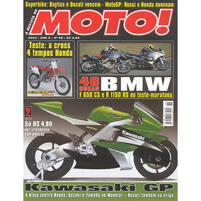 Moto.088 Abr02- Bmw650 1150 Honda Crf450 Suzuki Lets Ii