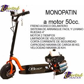 Monopatin A Motor Gaf 50 Cc 0 Km Listo Para Utilizar