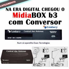 Receptor Midiabox Hdtv B3 Com Conversor Digital Terrestre