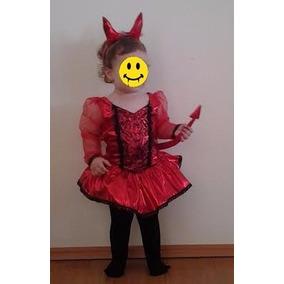 Disfraz Diablita Halloween Envío Gratis