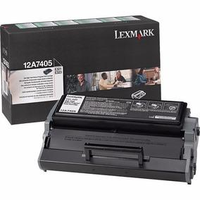 Cartucho De Toner Original Lexmark 12a7405 Preto E321/e323