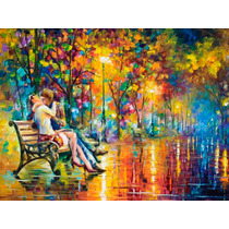 Pintura Al Óleo Passion Evening Por Leonid Afremov