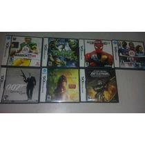 7 Juegos Nintendo Ds Seminuevos Varios Titulos