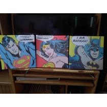 Cuadros Comics Arte Pop Batman Vs Superman