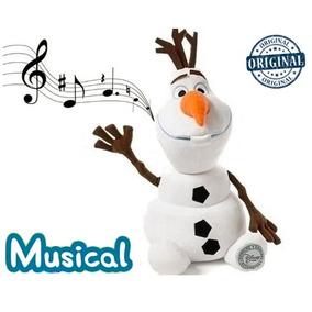 Olaf Musical Pelúcia Frozen Disney Boneco De Neve Pelúcias
