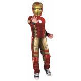 Fantasia Infantil Masculina Homem Ferro Luxo Rubies 1110