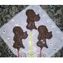 Chupetines De Chocolate Bautismo Comunion X 12 U.