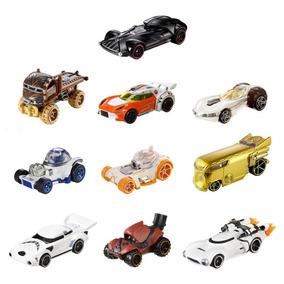 Coleção Star Wars R1 Hot Wheels Com 10 - Mattel Dxn83