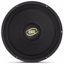 Alto Falante 12 Eros E12-450 Lc Black 450w Rms 4 Ohms Woofer