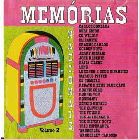 Cd Coletãnea Memórias -nacionais - Volume 2