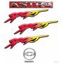 Emblemas Astra Sport + Laterais Sport + Gravata - 99 À 2002